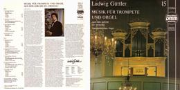 Superlimited Edition CD Ludwig Guttler. MUSIK FUR TROMPETE UND ORGEL. - Instrumental