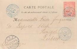 MADAGASCAR CP ANDEVORANTE  Pour L'Allemagne Cachet D'arrivée - Madagascar (1889-1960)
