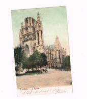 Laeken.L'Eglise.Expédié à Hautmont (Nord/France) - Laeken