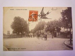 GP 2019 - 247  VOVES  (Eure-et-Loir)  :  Avenue De La  GARE   1908   XXX - Autres Communes