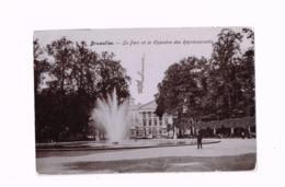Le Parc Et La Chambre Des Représentants.Expédié De Forest à Ciney. - Monuments