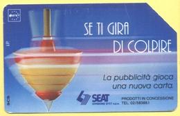 Scheda Telefonica - ITALIA - ITALY - ITALIE - 30.06.94 - SEAT - Se Ti Gira Di Colpire - SIP 5000 - Italia