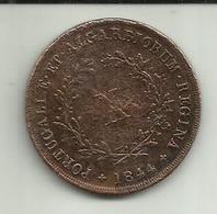 X Réis 1844 D. Maria II Portugal - Portugal