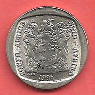 1 Rand , AFRIQUE DU SUD , 1995 , Nickel , N° KM # 138 , Etat: SUP - Sudáfrica