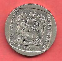 2 Rands , AFRIQUE DU SUD , 1991 , Nickel , N° KM # 139 - Afrique Du Sud