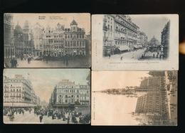 8 KAARTEN BRUSSEL 2 SCANS - Lots, Séries, Collections