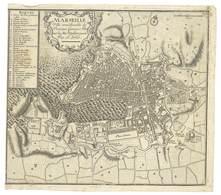 Carte Ancienne De La Ville De MARSEILLE Par N. De Fer (VP 849) - Geographical Maps