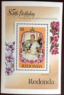Antigua Redonda 1985 Queen Mother Minisheet MNH - Antigua And Barbuda (1981-...)
