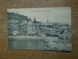 Honfleur , Le Quai Ste Catherine - Honfleur
