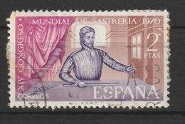 MiNr. 1879 Spanien 1970, 18. Aug. 14. Internationaler Schneiderkongress, Madrid. - 1931-Heute: 2. Rep. - ... Juan Carlos I