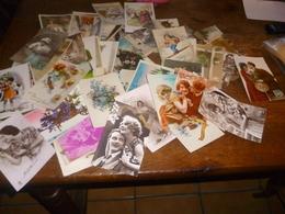 Lot De 128 CPA  Fantaisies - Port Gratuit - Cartes Postales