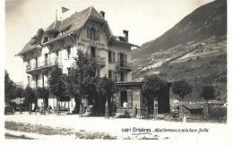 VALAIS VS ORSIERES HOTEL TERMINUS ET DE LA GARE BUFFET - Desclarzes Et Vernay Prop. - Chapallaz Fils Lausanne No 3697 - GR Grisons