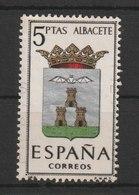 MiNr. 1302 Spanien 1962, 12. Febr. Wappen Der Provinzhauptstädte (II). - 1961-70 Gebraucht