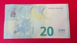 20 EURO PORTUGAL - M004 F6 - Serial Number MC2661666066 - UNC NEUF - EURO