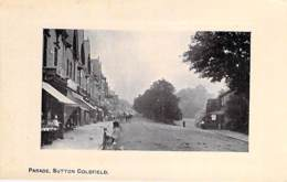 "UNITED KINGDOM - ENGLAND ( Warwickshire ) SUTTON COLDFIELD : Parade - CPA ""vernie"" Avec Cadre - Royaume Uni - Angleterre"