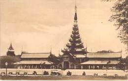 "ASIA Asie - MYANMAR ( Burma ) Ex BIRMANIE - MANDALAY : The "" Centre Of The Universe "" Or The Burman King's Palace CPA - Myanmar (Burma)"