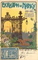 MEURTHE ET MOSELLE  NANCY Carte Publicitaire EXPOSITION De NANCY  1909 - Nancy