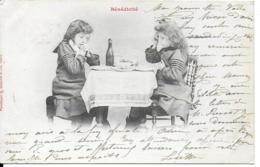 BERGERET Bénédicité (deux Enfants) - Scènes & Paysages