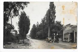 RANDAN  (carte Photo 63)  Route De Vichy - Station Service, Vieille Voiture   -  L  1 - France