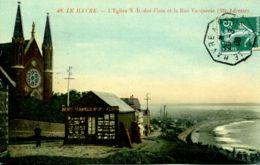 N°69806 -cachet Convoyeur (ambulant) Le Havre à Paris 1908 - Poste Ferroviaire