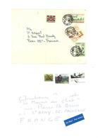 2 Enveloppes Timbrées - Canada Et Colombie- By Air Mail - Par Avion) (VP 852) - Colombie