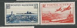 ALGERIE   N°  273/74  **  TB  2 - Algérie (1924-1962)