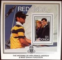 Antigua Redonda 1986 Royal Wedding Minisheet MNH - Antigua And Barbuda (1981-...)