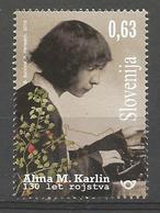 SI 2019-1349 ALMA KARLIN , SLOVENIA, 1 X 1v, MNH - Slowenien