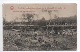 VONCQ (08) - LE PETIT PONT DETRUIT PAR LES ALLEMANDS (NOVEMBRE 1918) - Andere Gemeenten