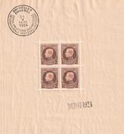 BL1 MNH - Dépot 1924 Albert 1er - Blocs 1924-1960