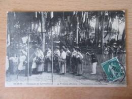 Nevers - Concours De Gymnastique - La Tribune Officielle - Présentation Des Gênoises - Carte Animée, Circulée En 1909 - Nevers