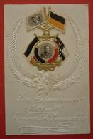 GERMANY - KAISER WILHELM II.-OLD LITHO , EMBOSSED - Familles Royales
