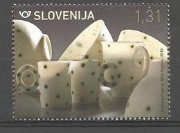 SI 2019-04 PORZELAN , SLOVENIA, 1 X 1v, MNH - Slowenien