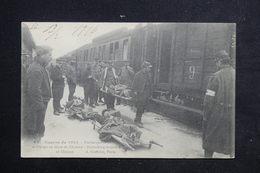 MILITARIA - Carte Postale 14/18 - Embarquement Des Blessés En Gare De Chalons - L 22388 - Guerre 1914-18