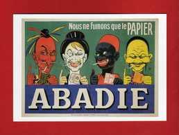 CPM - Cigarettes ABADIE, Affiche Eugène Ogé .  Vedi Descrizione - Cartoline