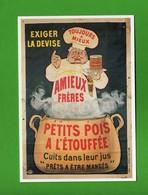 CPM - Amieux, Petits Pois à L'eouffée, Affiche Eugène Ogé .  Vedi Descrizione - Cartoline