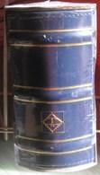 Leuchtturm - ALBUM Pour 100 Lettres Ou FDC (Bleu) - Albums Pour Enveloppes