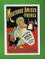 CPM - Moutarde Amieux Fréres, Carton Publicitaire Eugène Ogé 1910.  Vedi Descrizione - Cartoline