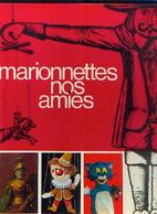 (timbre) TINTIN Et (biscuits) DE BEUKELAER « Marionnettes Nos Amies » (album Difficile à Trouver) - De Beukelaer