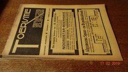 #20701 [Boek - Tijdschrift] Toerisme, Negende Jaargang, Nummer 3, 1 Februari 1930 Moorsel (aalst) Oberammergau - Tourisme