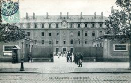 N°69823 -cpa Le Havre -la Caserne Eblé- - Caserme