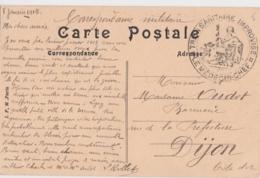 Bg - Cachet FM - Train Sanitaire Improvisé (1915) - Sur Carte Postale De Ligny En Barrois - Storia Postale