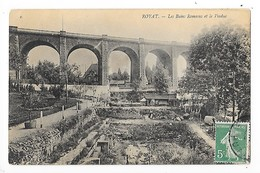 ROYAT  (cpa 63)   Les Bains Romains Et Le Viaduc   -  L  1 - Royat