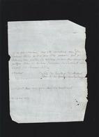 3 Letttres 18ème - Vie Quotidienne - Jupon D'indienne - Et 14 May 1758 De Servante Du Boulley De Saint Denis ? - Vieux Papiers