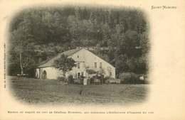 VOSGES  SAINT NABORD  Maison Ou Naquit Le General HUMBERT - Saint Nabord