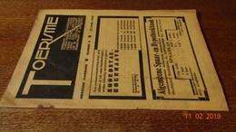 #20706 [Boek - Tijdschrift] Toerisme, Negende Jaargang, Nummer 8, 15 April 1930 Begijnhof Tienen - Tourisme