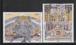 FRANCE - N°4708/9 Obl  (2012) Orgue De Saint Jacques De Lunéville - France