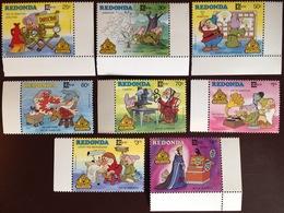 Antigua Redonda 1987 Disney Capex MNH - Antigua And Barbuda (1981-...)