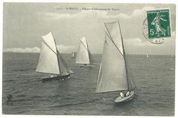 ST MALO - Départ D'une Course De Yachts, N°1325 - Saint Malo
