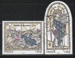 FRANCE - N°4857/8 Obl  (2014) Les Grandes Heures De L'histoire De France (III) - France